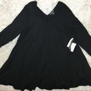Plus Size Basic Tunic Blouse